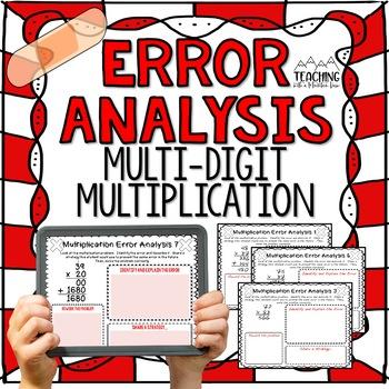 Multi-Digit Multiplication Error Analysis { Center, Enrichment, or Assessment }