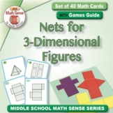 Multi-Match Cards 6G: Nets for 3-Dimensional Figures