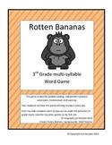 Multi-syllable word game Rotten Bananas