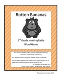 Multi-syllable word game Rotten Bananas
