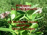 Multiple Choice Reading Check Quizzes for Jerry Spinelli's