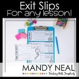 Multiple Exit Slips