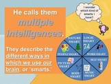 Multiple Intelligence (MI) PowerPoint (Elementary/Primary)