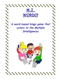 Multiple Intelligences Wordo - A Spelling Game