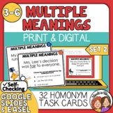 Multiple Meaning Words