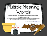 Multiple Meaning Words for Kindergarten