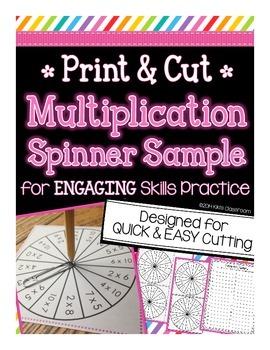 Multiplication Spinner Sample