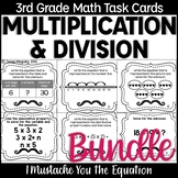 Multiplication & Division Task Cards Bundle