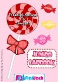 Multiplication Facts 0-12 Jumbo-Lapbook Activities