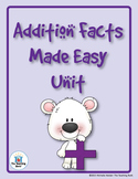 Addition Facts Unit and Games CD