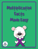 Multiplication Facts Made Easy Teaching Unit with Games CD