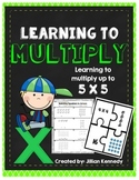 Multiplication - Learning to Multiply up to 5 X 5