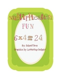 Multiplication Matching Game and Timed Tests