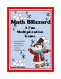 Multiplication Math Blizzard