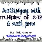 Multiplication Math Game {Freebie}