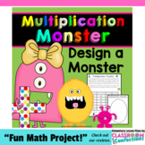 Multiplication Monster Activity