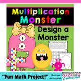 Multiplication Monster Activity