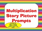 Multiplication Story Picture Prompt Task Cards