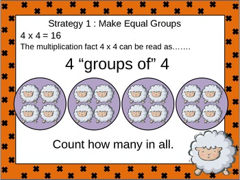 Multiplication: Commutative, Associative, Identity Powerpo