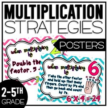 Multiplication Strategies Poster Pack