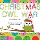 Multiplication and Division War-Christmas Theme-Common Cor