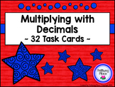 Multiplying Decimals Task Cards