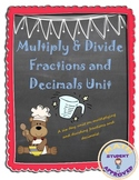 Multiplying & Dividing Fractions and Decimals Unit Plan