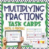 Multiplying Fractions Task Cards { Multiply with Visual Models }