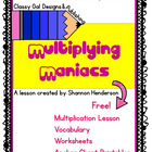 Multiplying Maniacs-- Introducing Multiplication Skills 3.OA.1