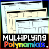 Polynomial Multiplication Activities