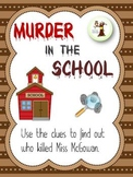 Murder in the School Mystery Solver