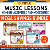 Music Bundle 1 Grades 5-8