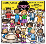 Music Class 2 Clip Art Bundle