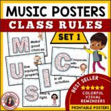 Music Decor: Class Rules Set 1
