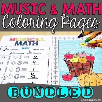 Music Coloring Pages (MEGA-BUNDLE) 96 Pages