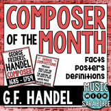 Music Composer of the Month: George Frideric Handel