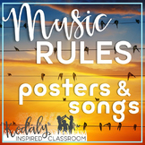 Music Rules {Posters and Songs}