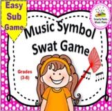 Substitute Music Plans