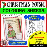 Christmas Music Symbol Glyphs