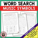 Music Symbols Word Search