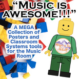 Music is AWESOME!!!  A MEGA Collection of Posters and Clas