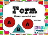 Musical Form SMART Board Lesson