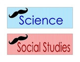Mustache Subject Headers