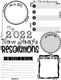 My 2015 New Year's Resolution Activity Poster Freebie