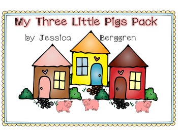 My 3 Little Pigs Pack {Freebie}