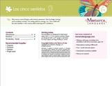 Five Senses- Los cinco senidos in Spanish