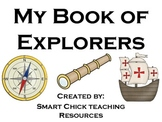 My Book of Explorers ~ Note-Taking and Research Practice!