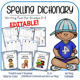My Desk Spelling Dictionary: Grades 2-5 Sitton's Spelling