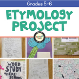 Etymology Vocabulary Project