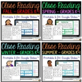 My First Reading Comprehension Passages - BUNDLE